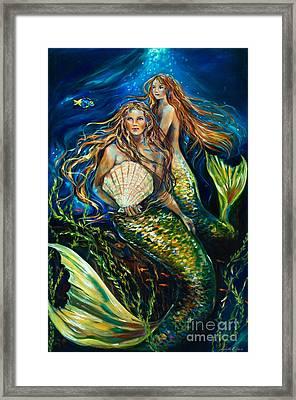 Sisters Framed Print by Linda Olsen