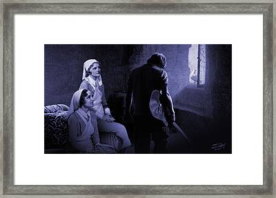 Sisters Of Mercy Framed Print