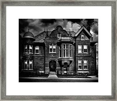 Sisters Of St. Joseph Heritage Building Toronto Canada Framed Print by Brian Carson