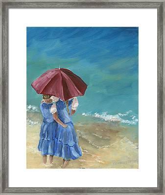 Sisters Framed Print by Susan Richardson