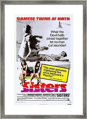 Sisters, Us Poster Art, Margot Kidder Framed Print