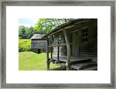 Sit A Spell Framed Print by Marty Fancy