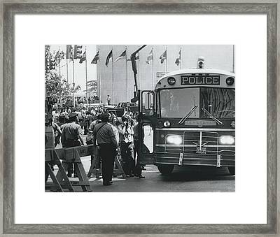 Sit - In For Survival Framed Print by Retro Images Archive