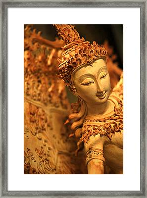Sita Framed Print by Suradej Chuephanich