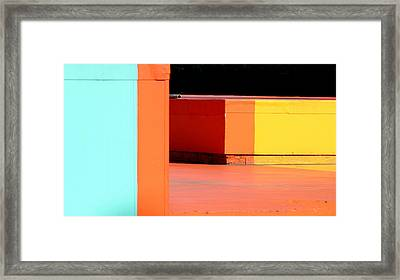 Site D3 Framed Print by A Rey
