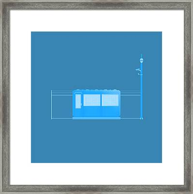 Site Security Framed Print by Peter Cassidy