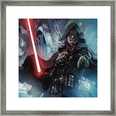 Sith Cultist Framed Print by Ryan Barger