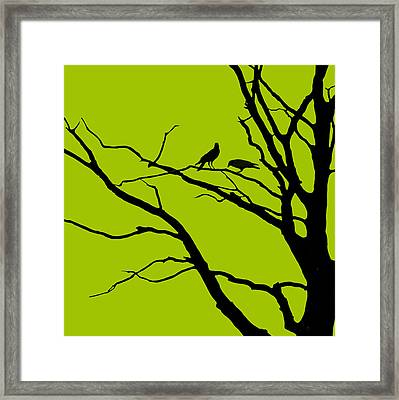 Sitting Around Prt 1 Framed Print by Lourry Legarde