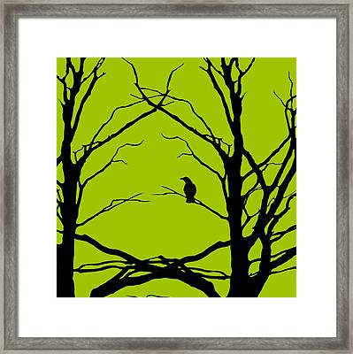 Sitting Around Prt 2 Framed Print by Lourry Legarde