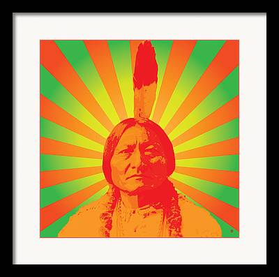 Sitting Bull Framed Prints