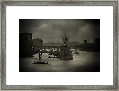 Framed Print featuring the photograph Sitting Ducks by Russell Styles