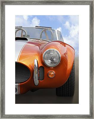 Sitting Pretty - Cobra Framed Print by Mike McGlothlen