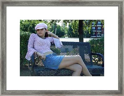 Sitting Pretty Framed Print by Joseph C Hinson Photography