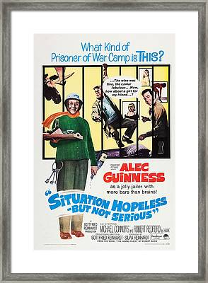Situation Hopeless But Not Serious, Us Framed Print by Everett