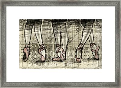 Six Feet Framed Print by H James Hoff