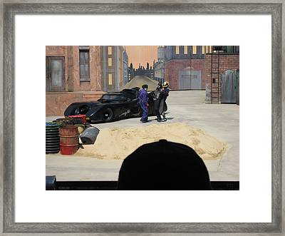 Six Flags America - 121225 Framed Print by DC Photographer