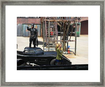 Six Flags America - 121236 Framed Print by DC Photographer
