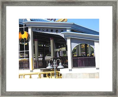 Six Flags America - Batwing Roller Coaster - 12122 Framed Print by DC Photographer