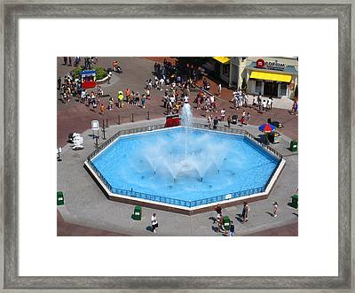 Six Flags Great Adventure - 12125 Framed Print by DC Photographer
