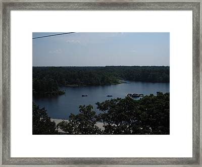 Six Flags Great Adventure - 12129 Framed Print
