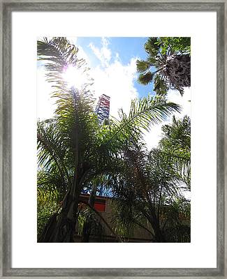 Six Flags Magic Mountain - 12128 Framed Print by DC Photographer