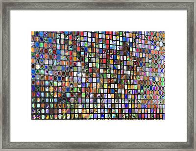 Six Hundred Rectangles Framed Print