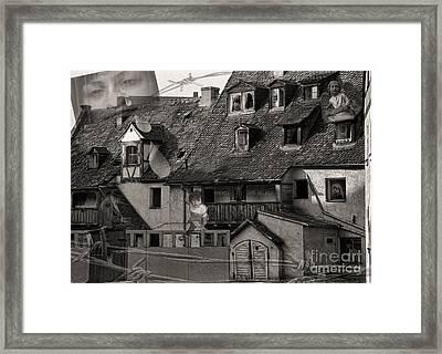 Six Lost Souls Framed Print by Jeff Breiman