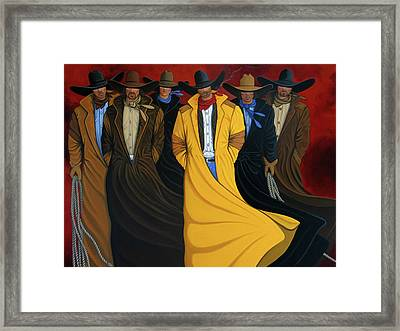 Six Pac Framed Print