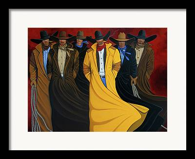 Collected Western Framed Prints