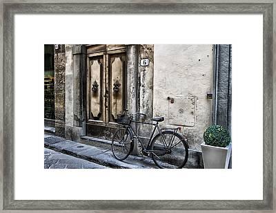 Six Framed Print
