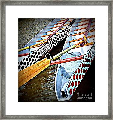 Six Sixteen Dragon Boat Framed Print