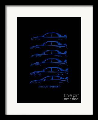 Subaru Impreza Framed Prints