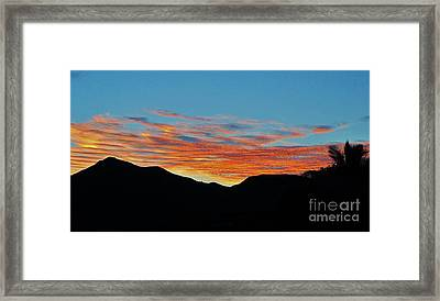 Six Thirty Eight Am Framed Print