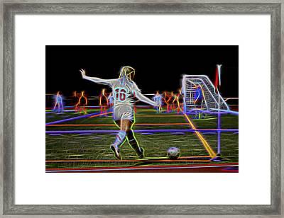 Sixteen Framed Print