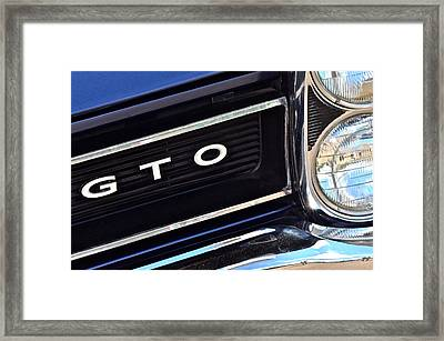 Sixty Five Gto Framed Print