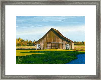 Skagit Valley Barn #3 Framed Print
