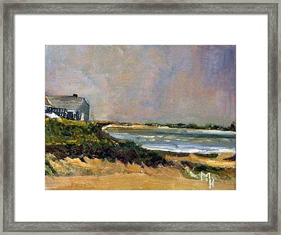 Skaket Beach Orleans Framed Print