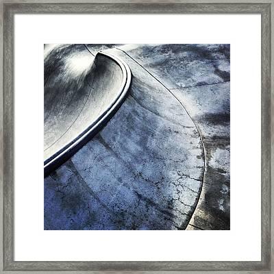 Skate Framed Print by Jeff Klingler