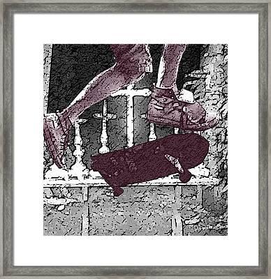 Skateboard Framed Print