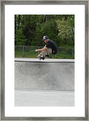 Skateboarding 4 Framed Print by Joyce StJames