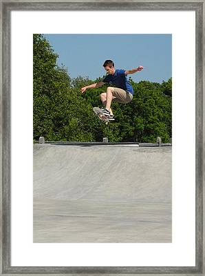 Skateboarding 6 Framed Print by Joyce StJames
