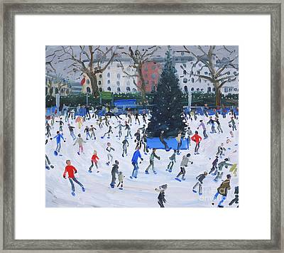 Skating  Natural History Museum Framed Print