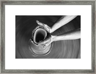 Skc 3464 The Delicate Caress Framed Print by Sunil Kapadia
