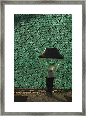 Skc 5518 A Lamp Shade Framed Print