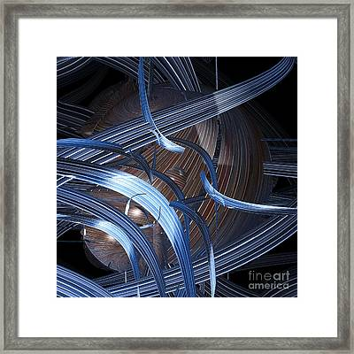 Skein By Jammer Framed Print by First Star Art