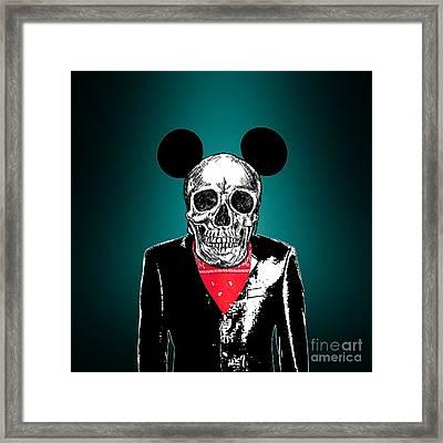 Skeleton 2 Framed Print by Mark Ashkenazi