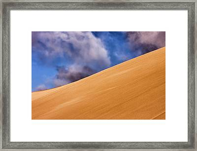 Skeleton Coast, Namibia Framed Print by Janet Muir