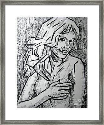 Sketch - Nude 2 2011 Series Framed Print