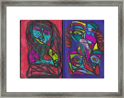 Sketchbook Image 4 Framed Print by Darrell Black
