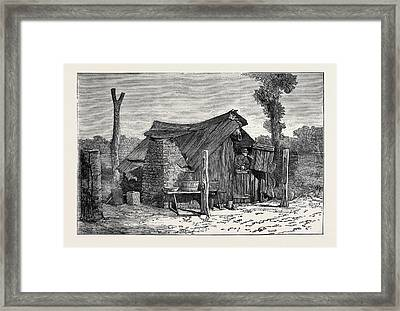 Sketches From Australia In Relation To The Tichborne Case Framed Print